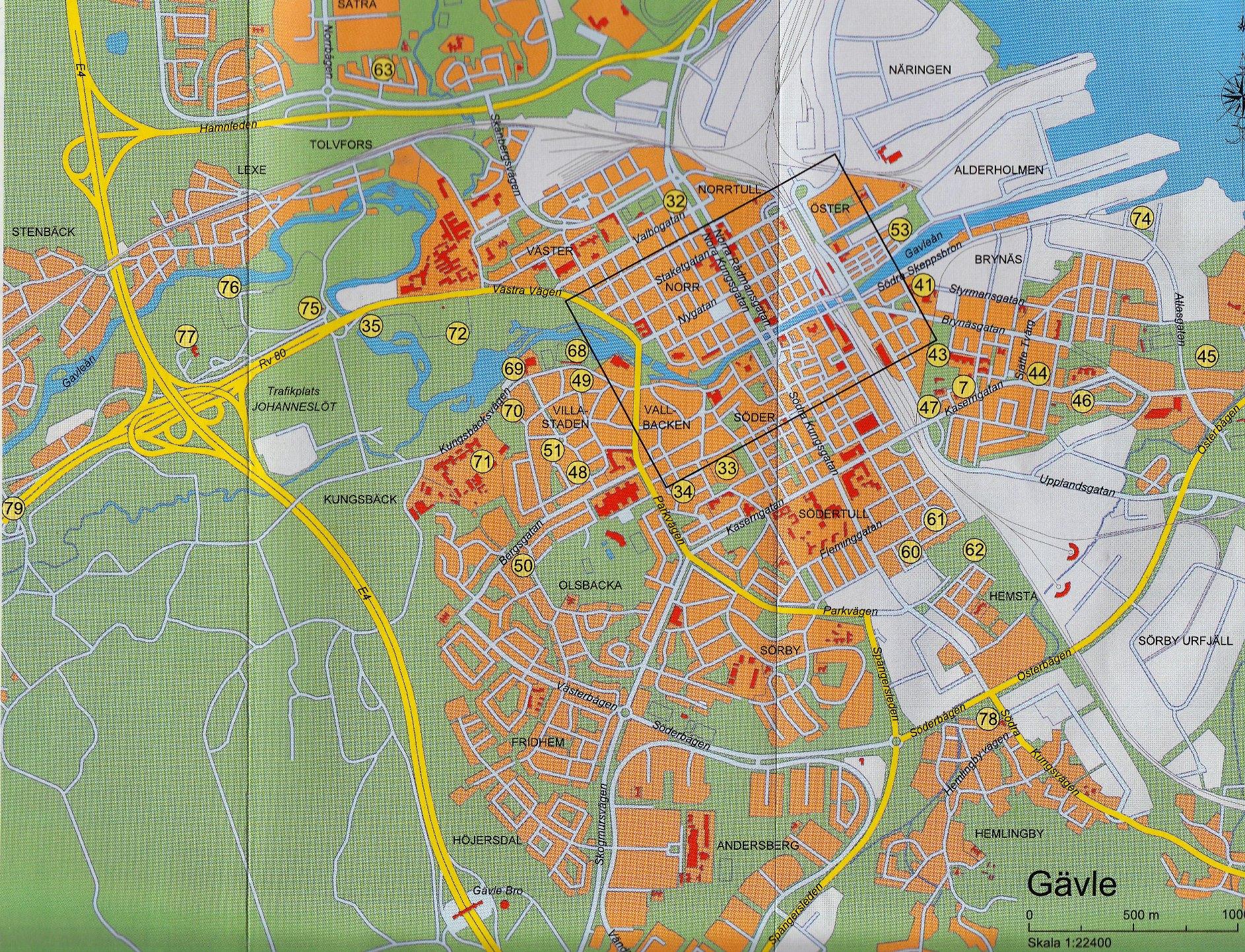 karta gävle Hur mycket kan du om Gävles karta?   Gävledraget karta gävle
